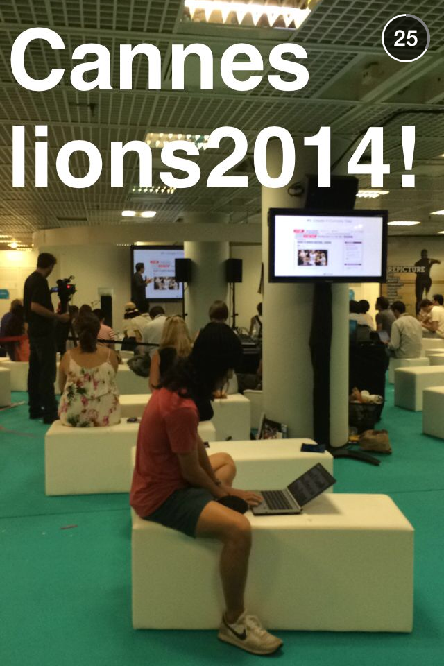 Cannes Lions on Snapchat