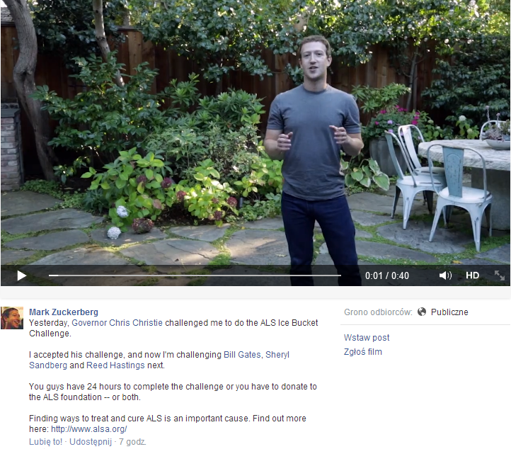 Mark Zuckerberg #IceBucketChallenge